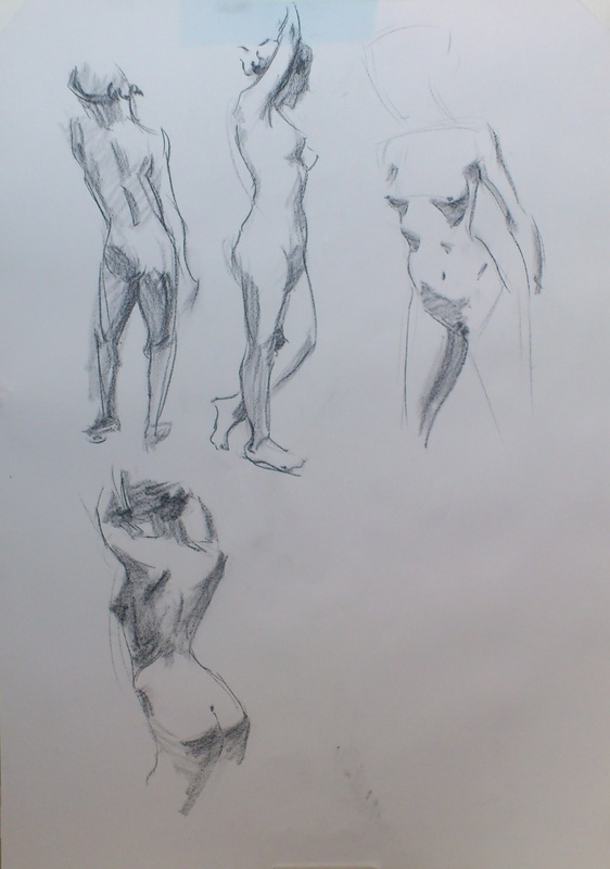 Henry Yan Came To Lavender Hill Studios Teach A Quick Course In His Methods Of Fast And Direct Drawing I Think Ive Got Some Practicing Do